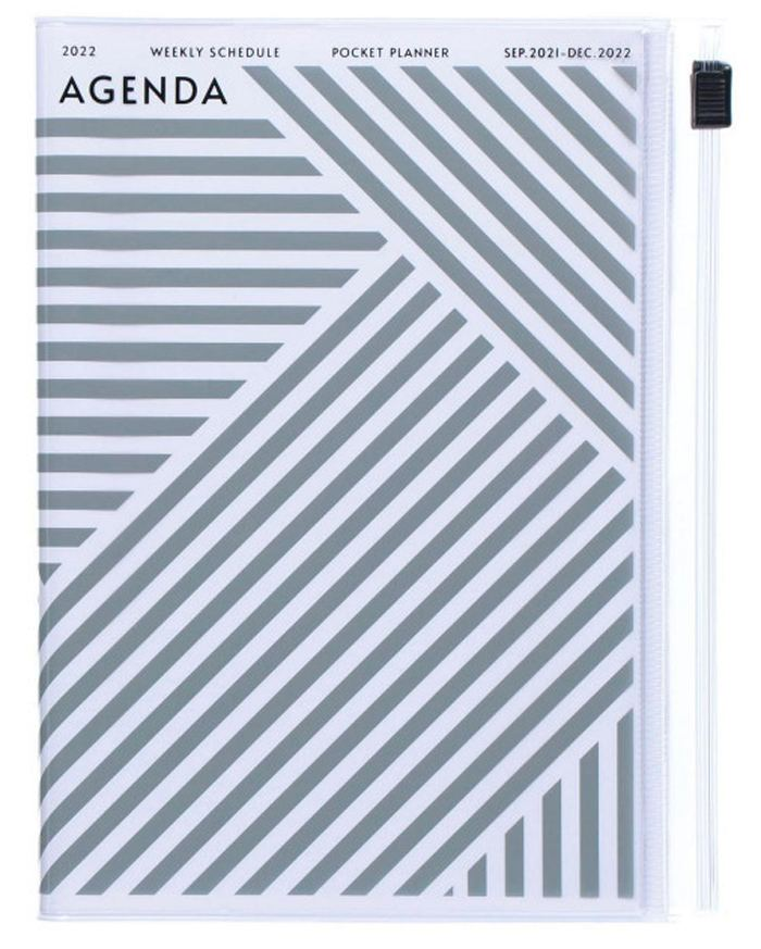 2022 Taschenkalender A6 Storage.it Geometric Grey