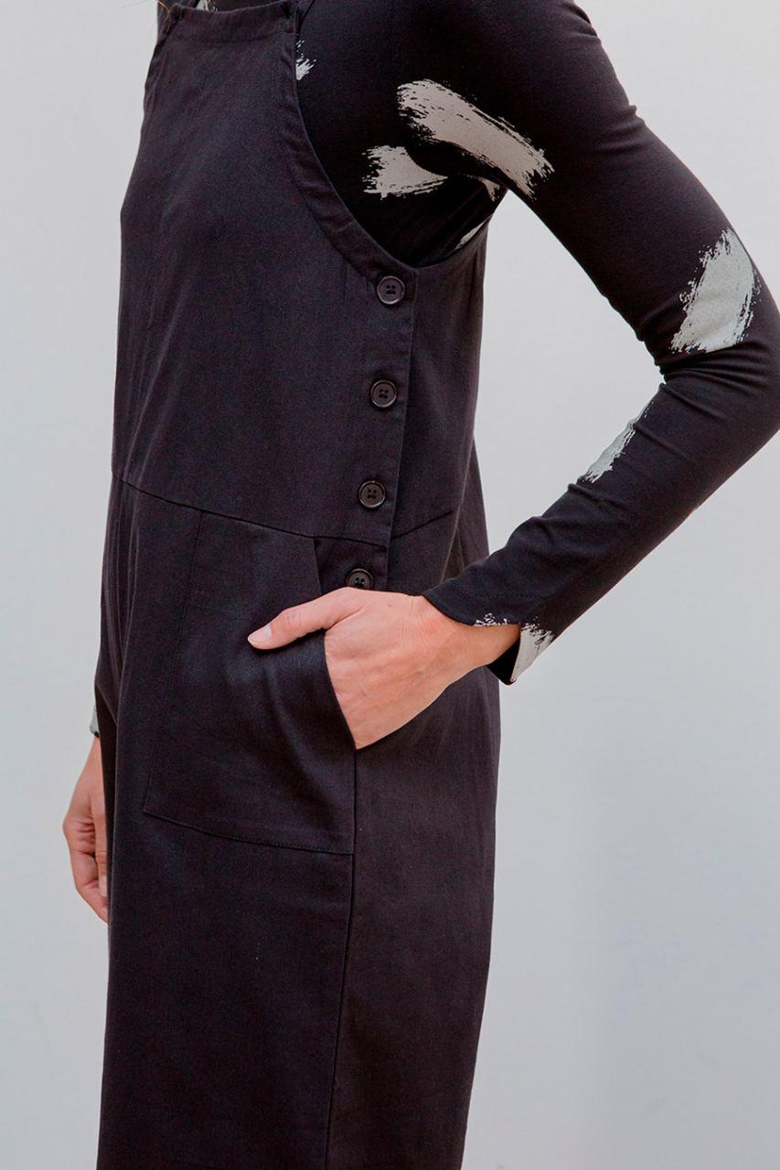 Nilda Overall Black
