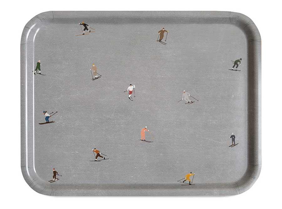 Skiers Tablett Groß