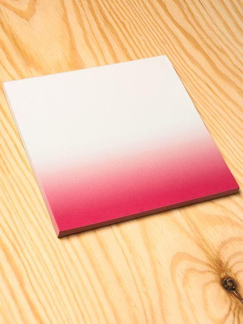 Dip Dye Pink Notizblock