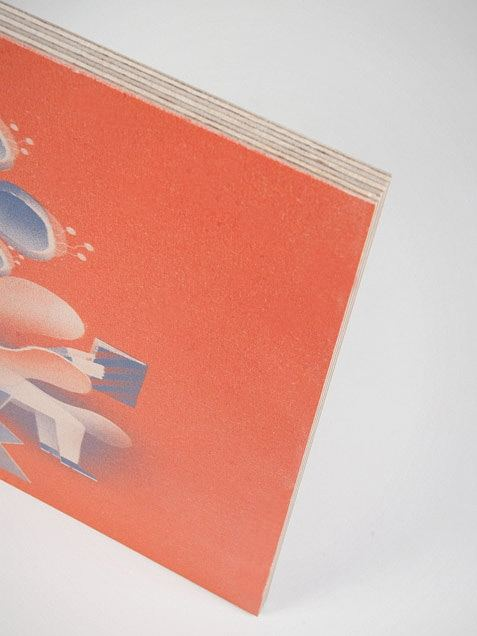 Hidden/Seek Holz Orange