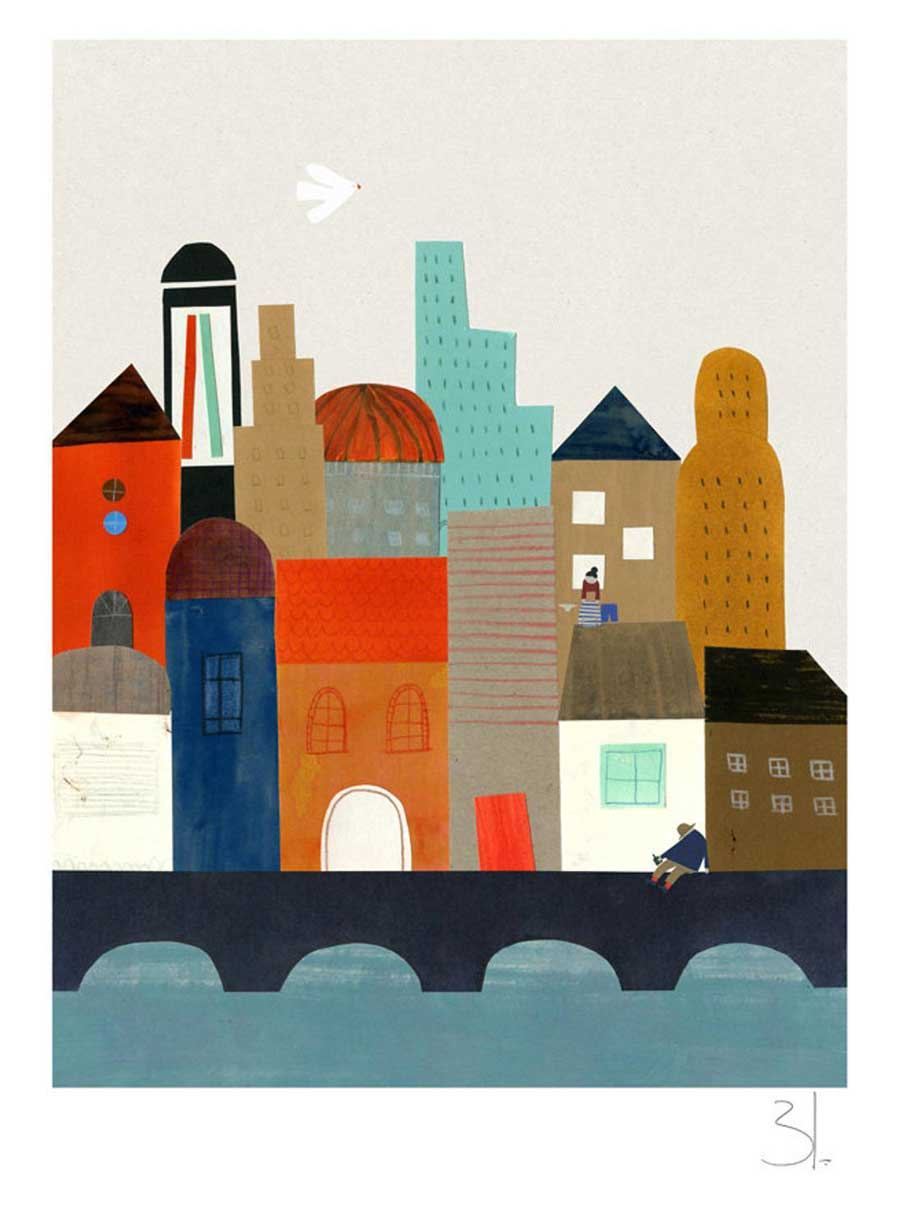 Imaginary City Print (Din A3+)