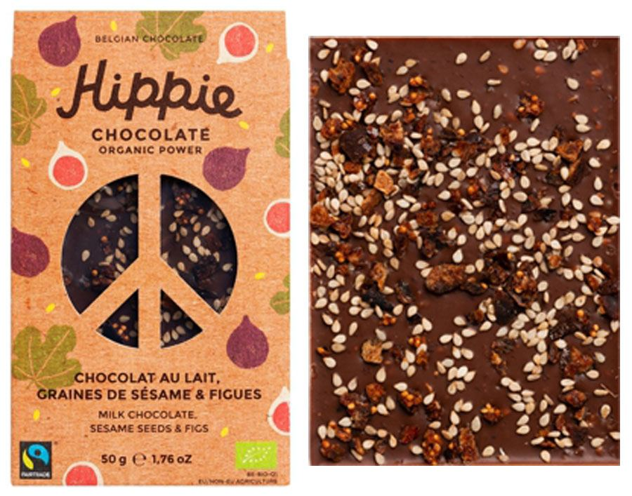 Hippie Chocolate Organic Power Milk Sesame Figs