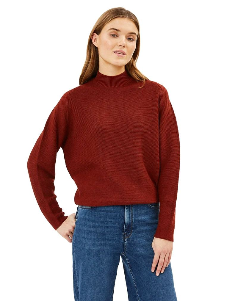 Lineah Strickpullover Smoked Paprika