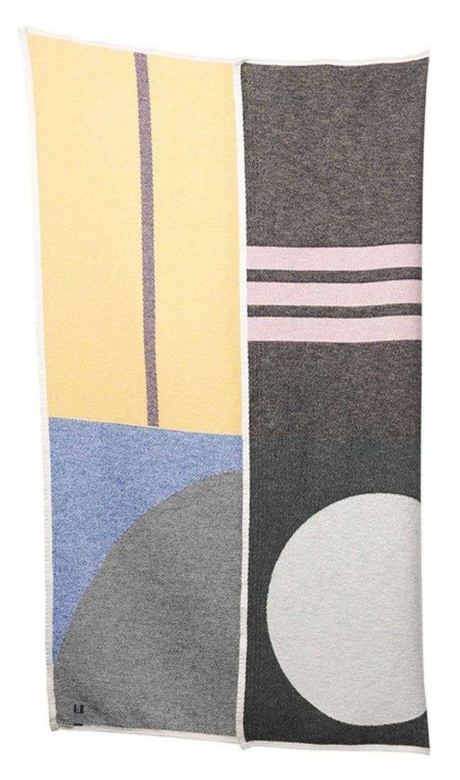 Bauhaused 5 Baumwolldecke (Sophie Probst)