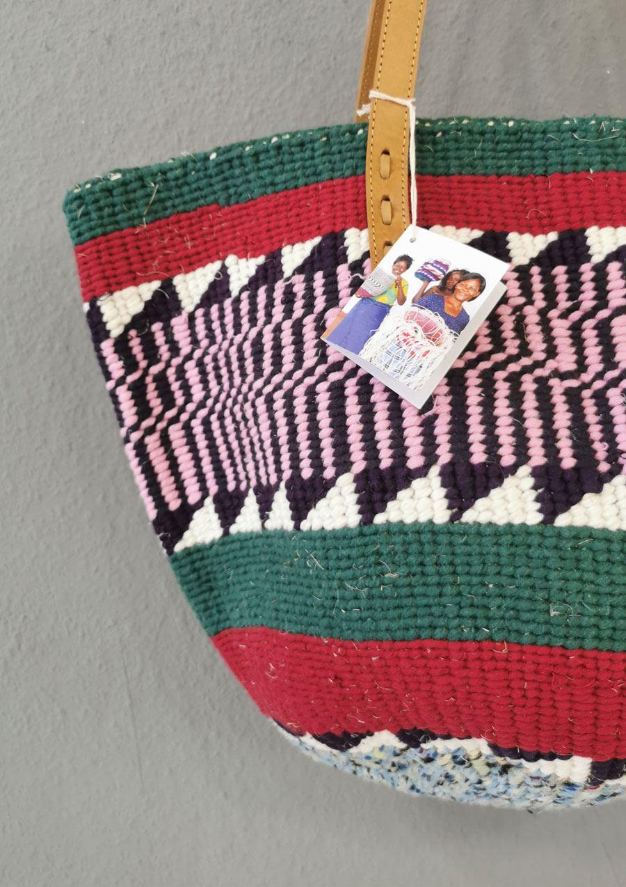 The Nifty Knit Basket Bag #4