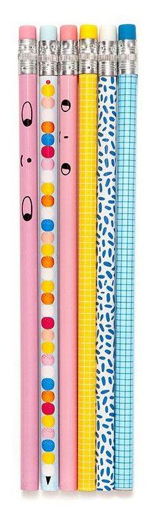 Bleistift-Set (6 Stück)