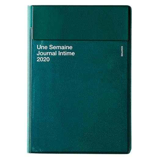 Iris 2020 Diary Green A6