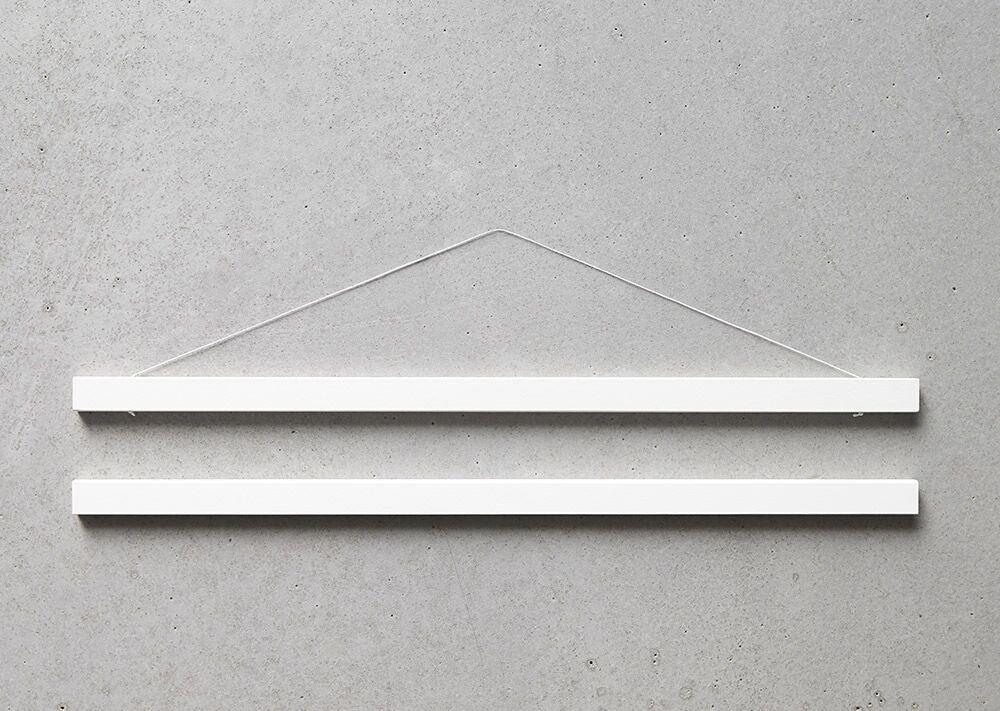 ChiCura Posterleiste Weiss 22cm