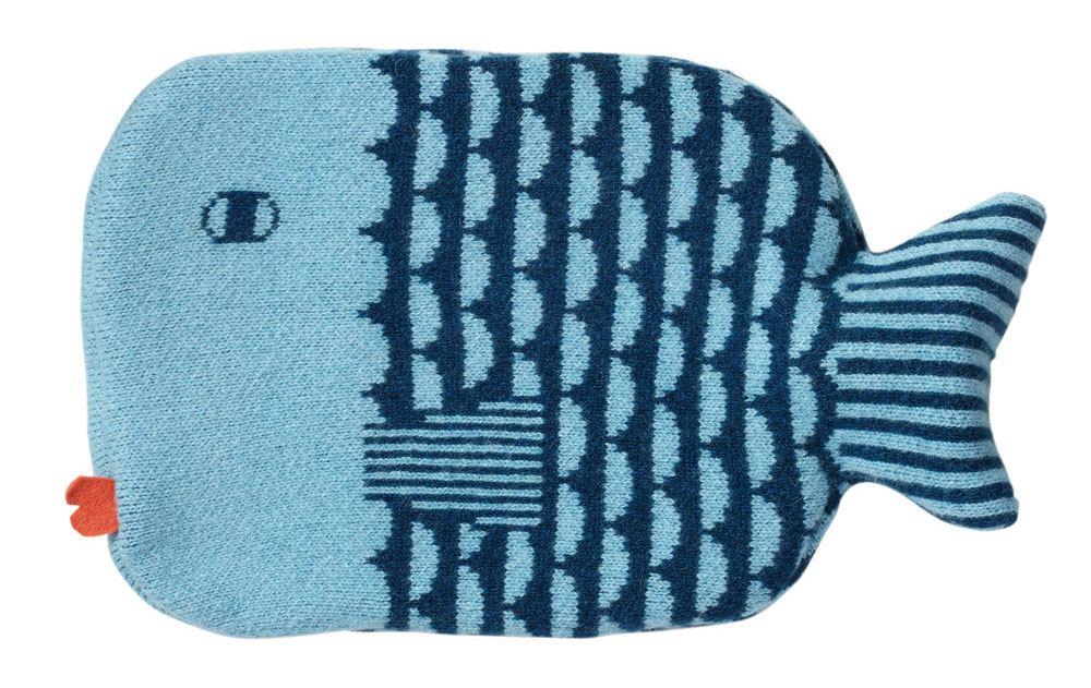 Finn Wärmflasche Blue