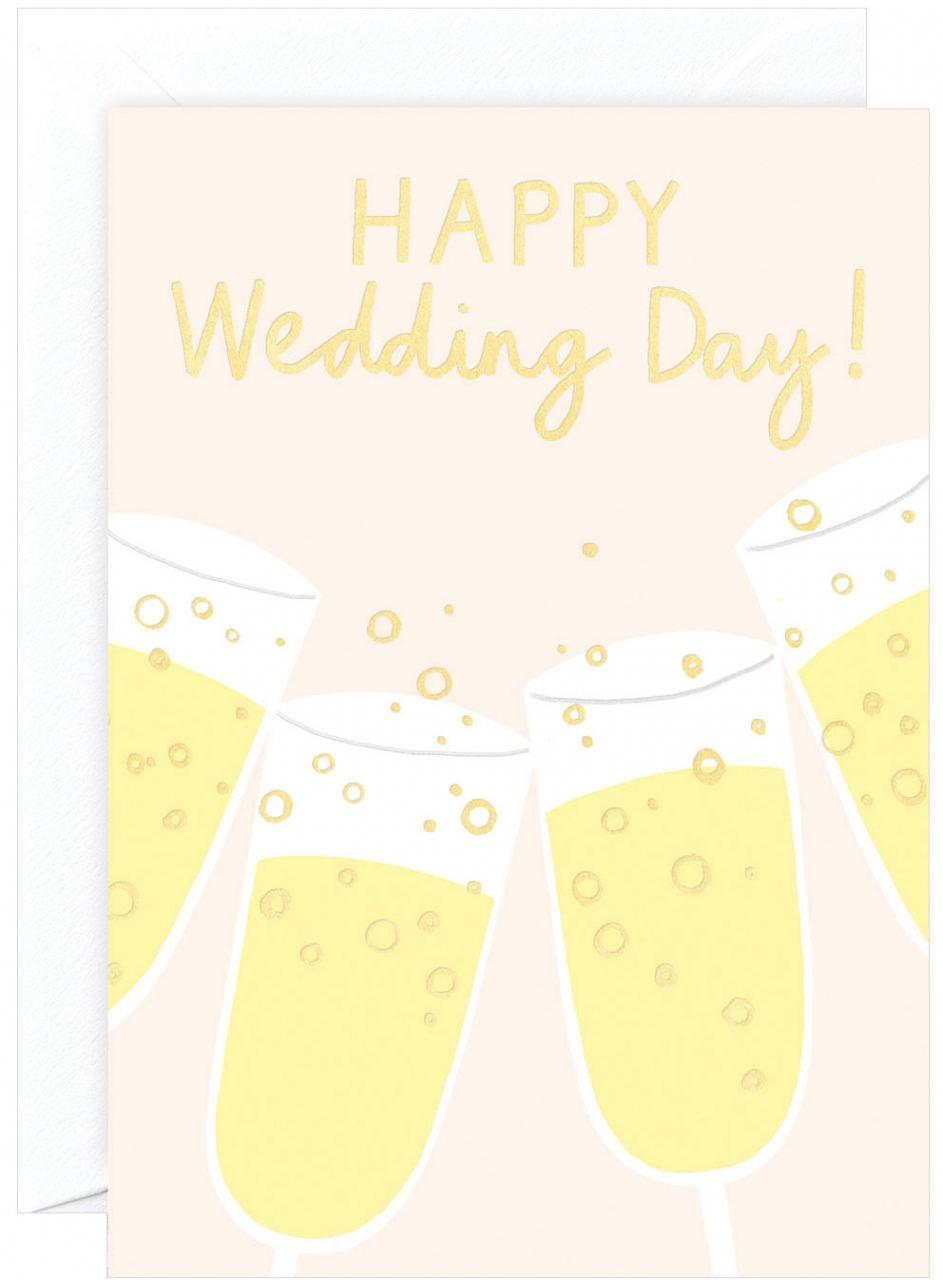 Happy Wedding Day Karte