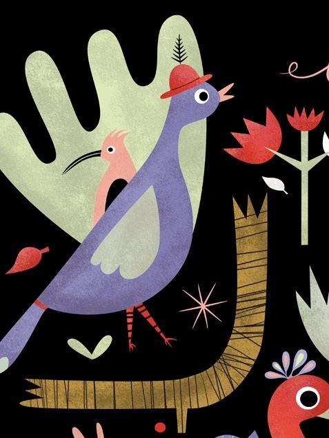 Birds Poster (50 x 70 cm)