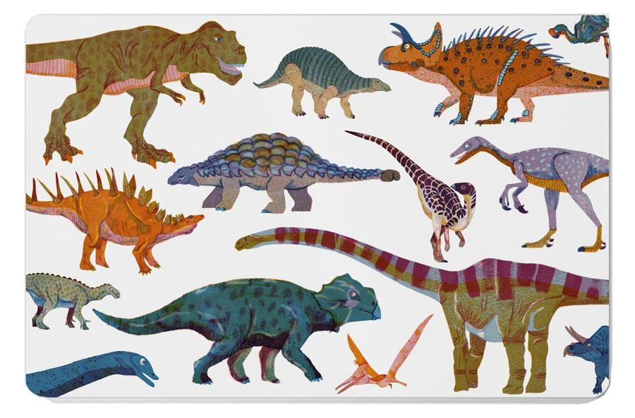 Dinosaur Frühstücksbrett
