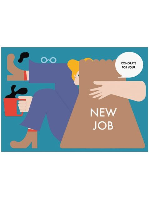 New Job Karte A5