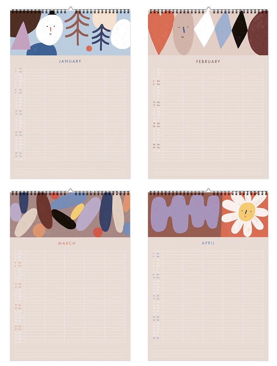 Shapes Familien Kalender 2022