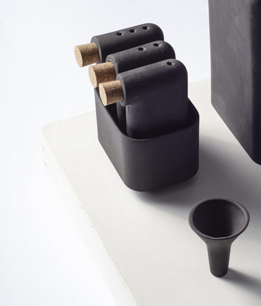 LOF Gewürzstreuer-Set Black