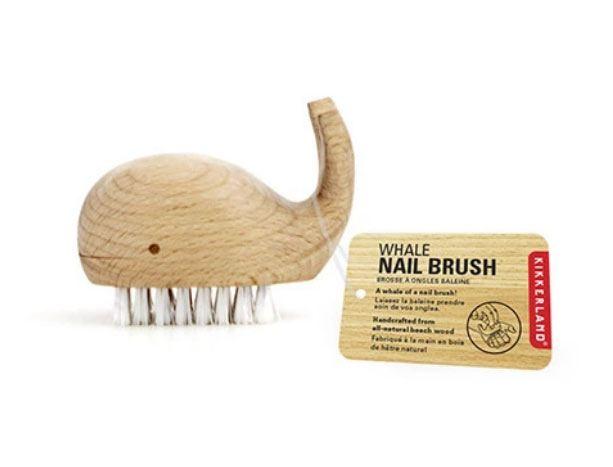 Bürste Wal aus Holz