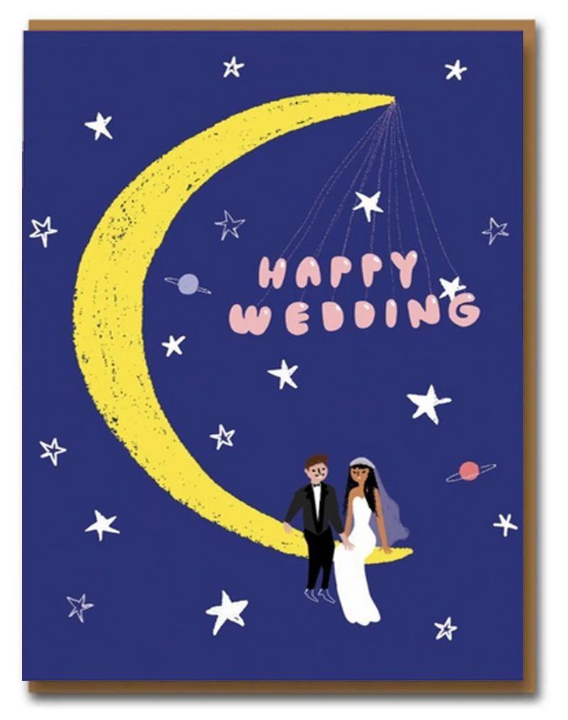 Carolyn Suzuki Moonlight Wedding Klappkarte