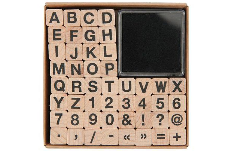 Stempelset ABC & Zahlen #1
