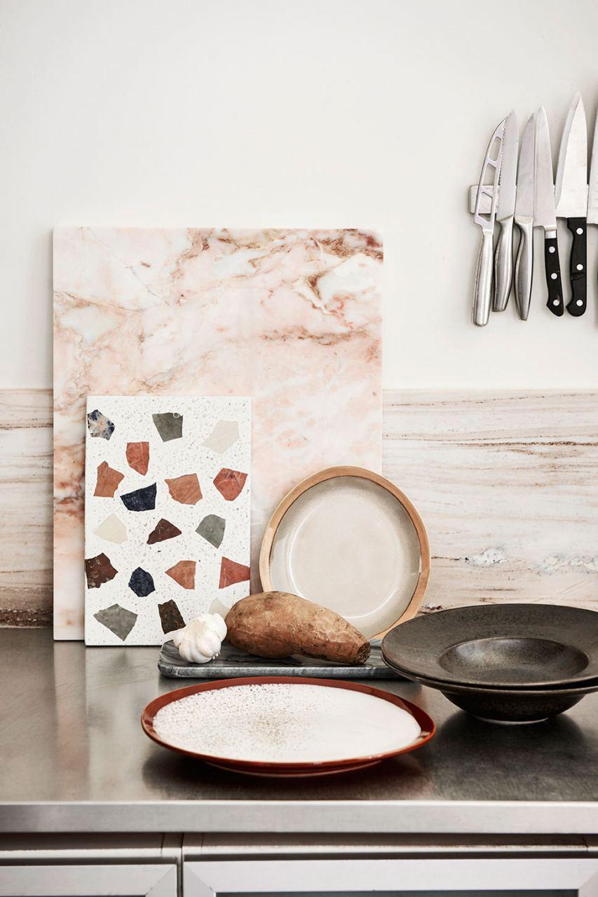 70's Ceramics Teller Earth