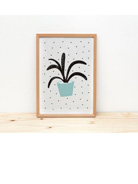 Planta Verde Poster (Din A3)