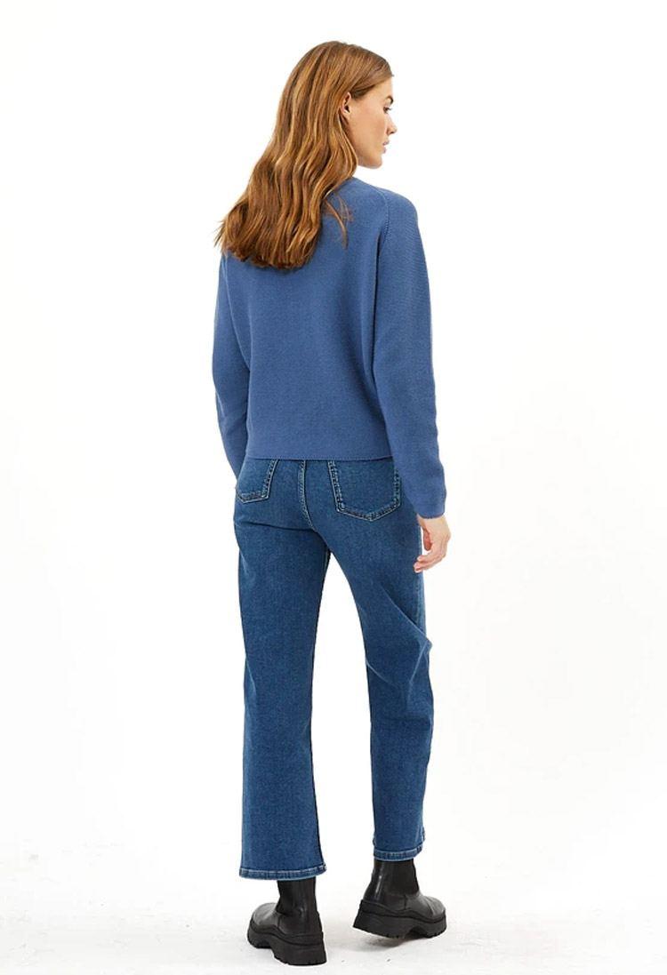 Lineah Strickpullover Horizon Blue