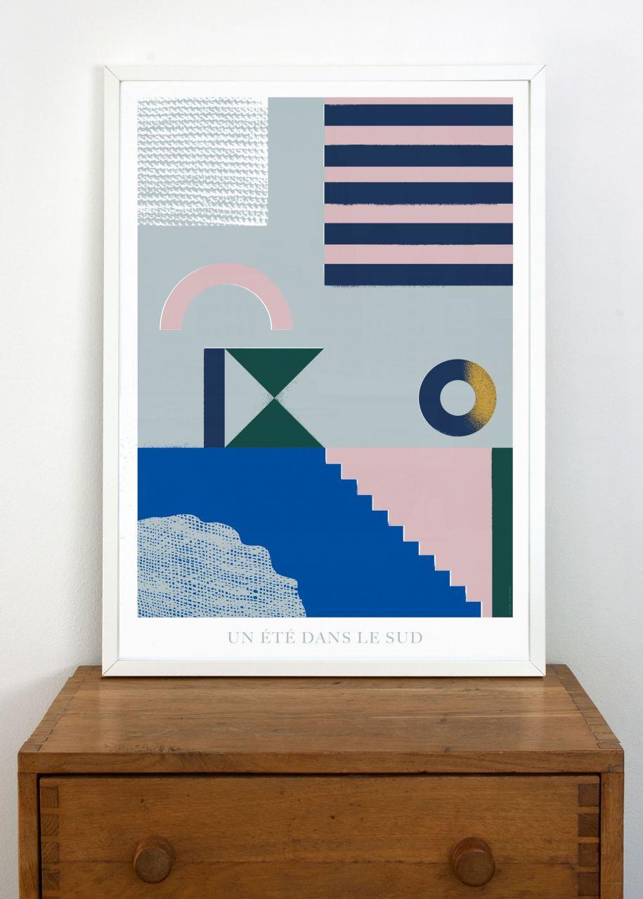 Un été dans le sud Poster (Din A1)