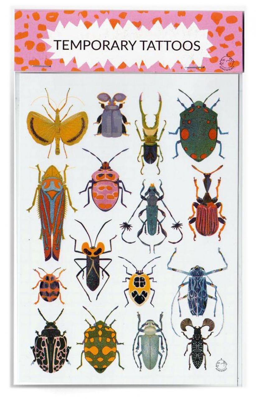 Bugs Temporary Tattoos