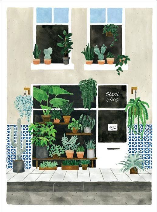 Plant Nursery Print (29,7 x 39,7cm)