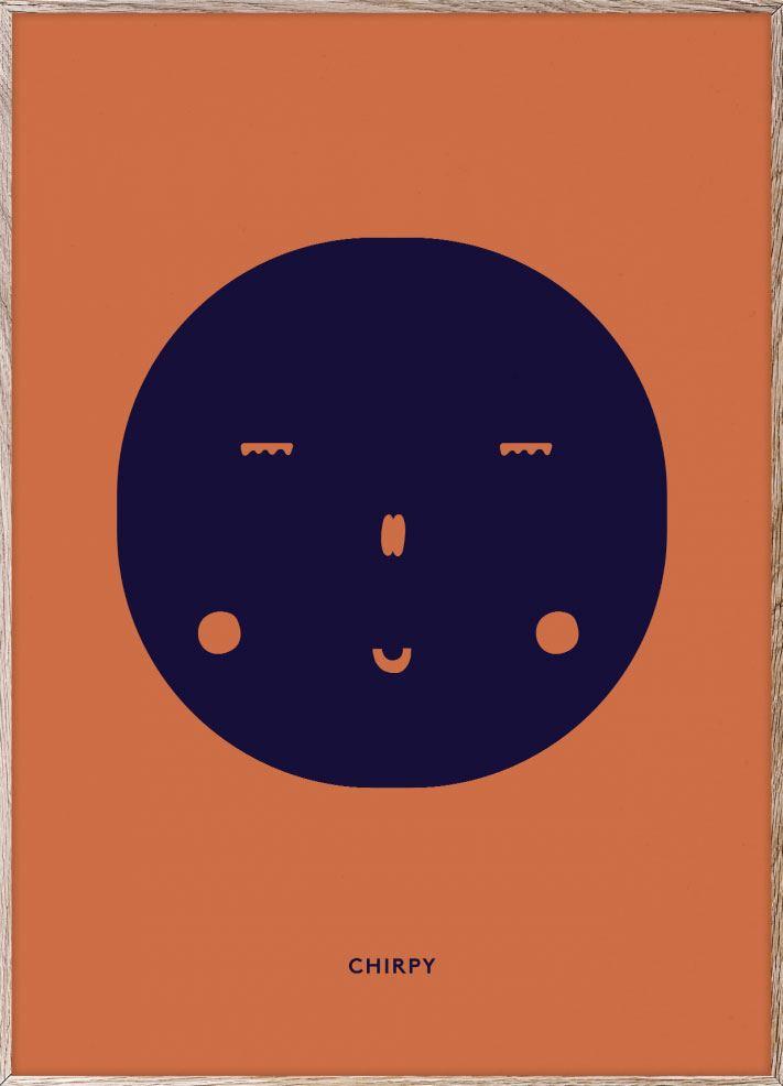 Chirpy Feeling Poster (50x70cm)