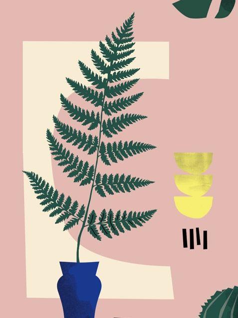 Botanical Still Life Poster (50 x 70 cm)
