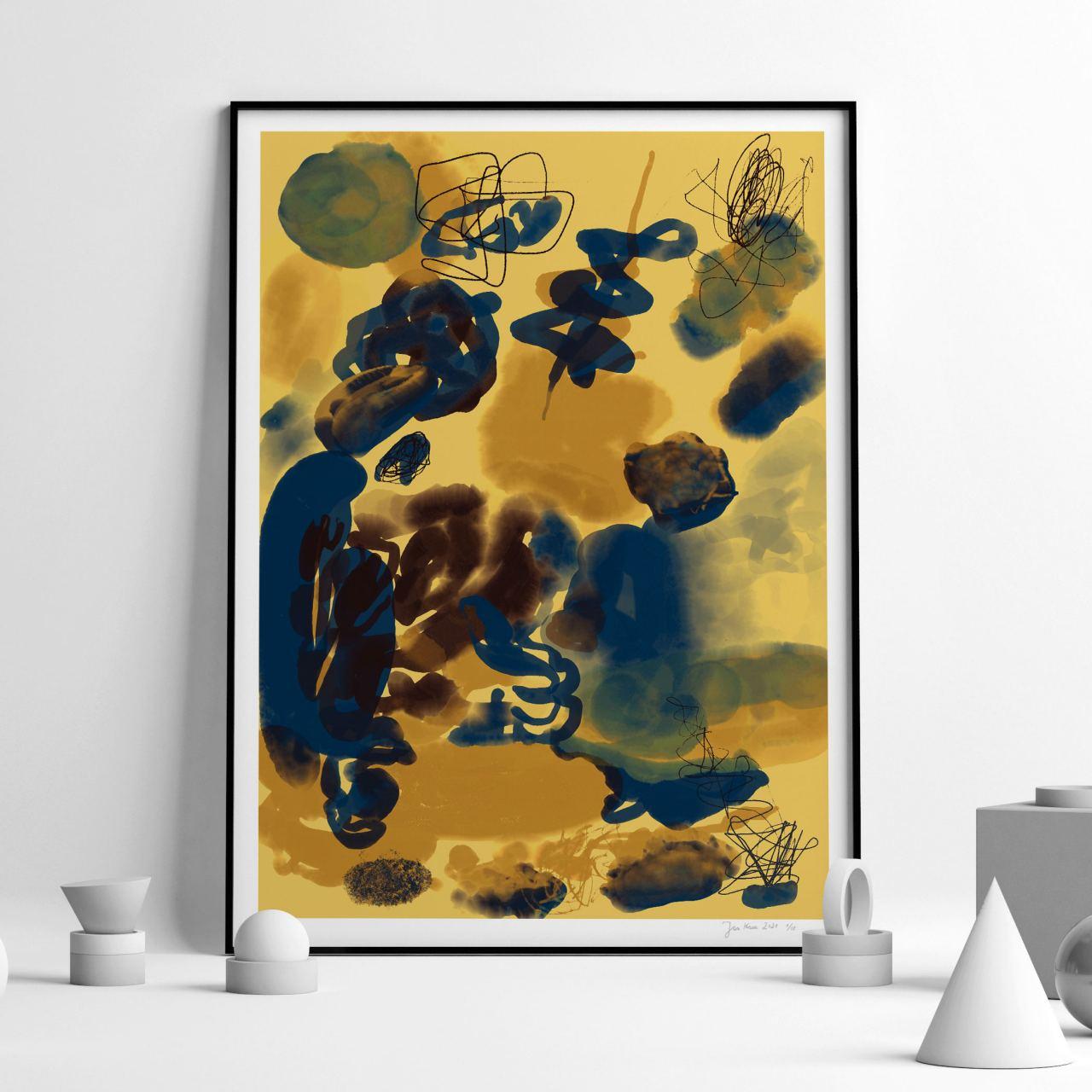 Beach FineArt Print (50x70cm)