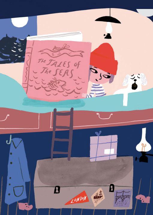 Cabin Postkarte
