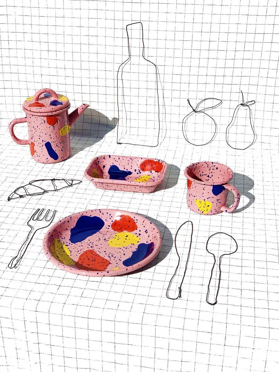 Kids & Family Tea Pot Pink