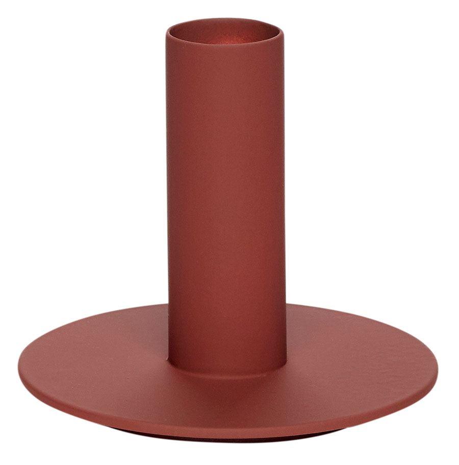 Kerzenhalter Metall Bordeaux