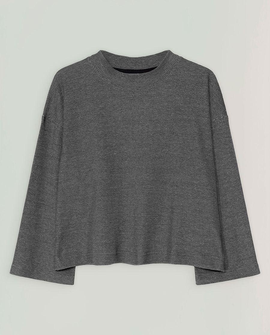 Liella Pullover Grey Melange