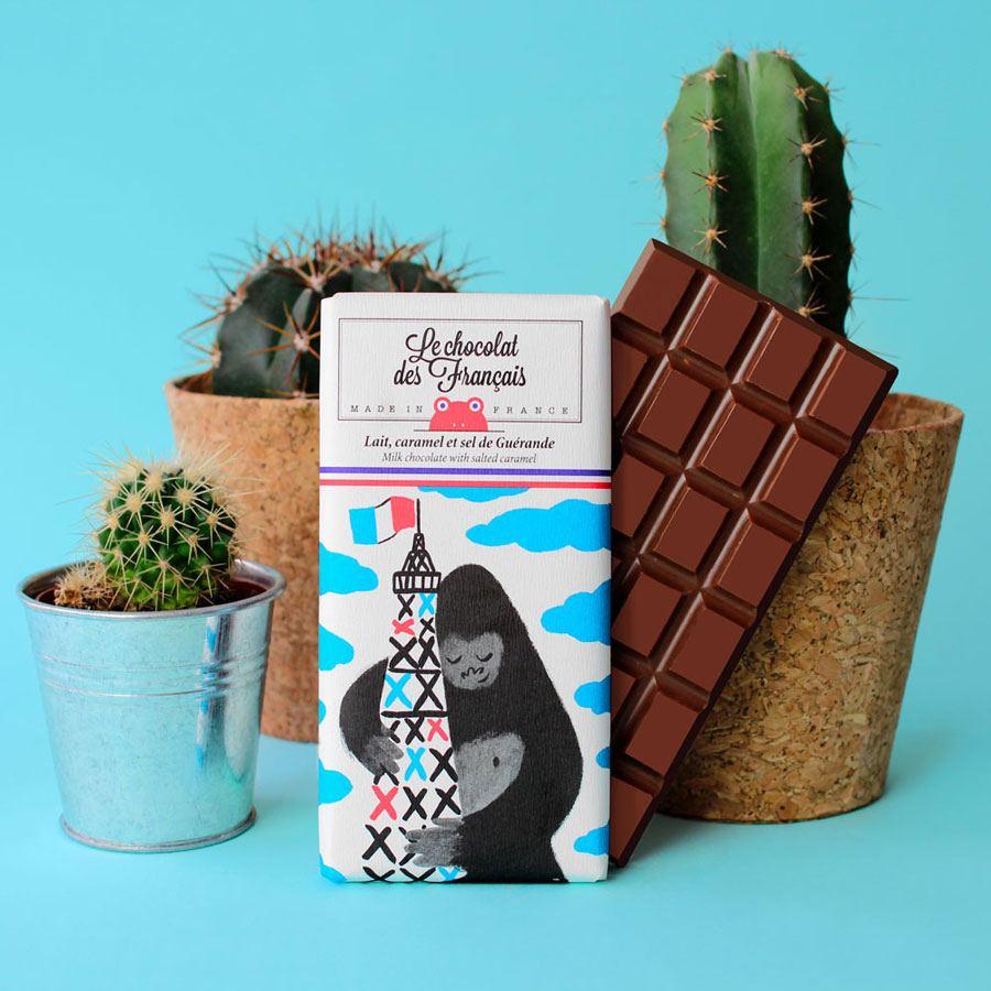 King Kong Milchschokolade mit Karamell & Salz