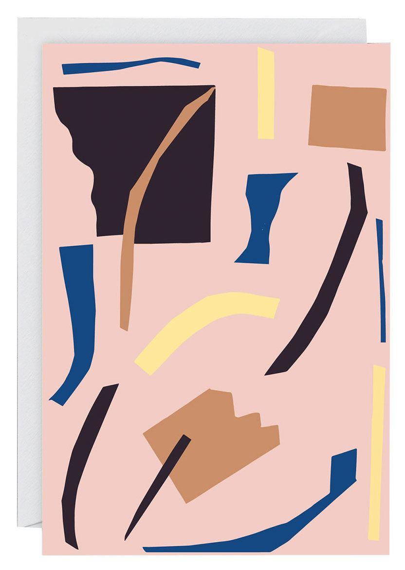 Abstract #6 Klappkarte