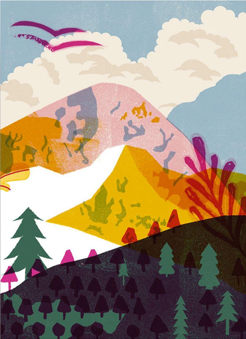 Mountain Print (Din A3)