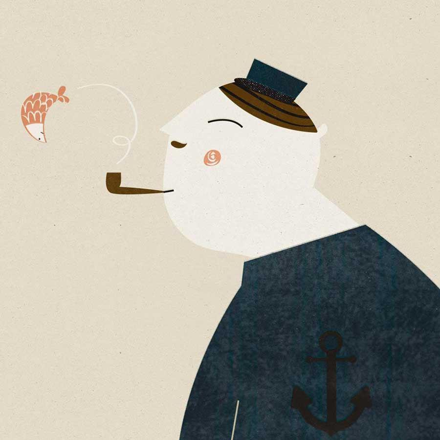 The Captain Print (Din A4)
