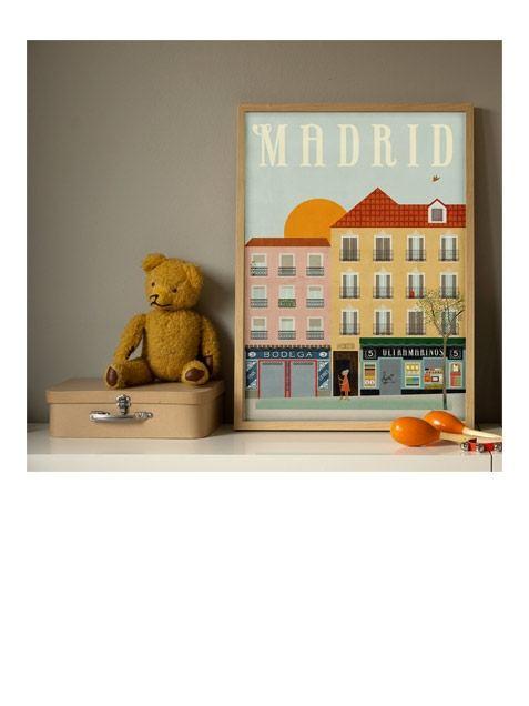 Madrid Poster (50 x 70 cm)