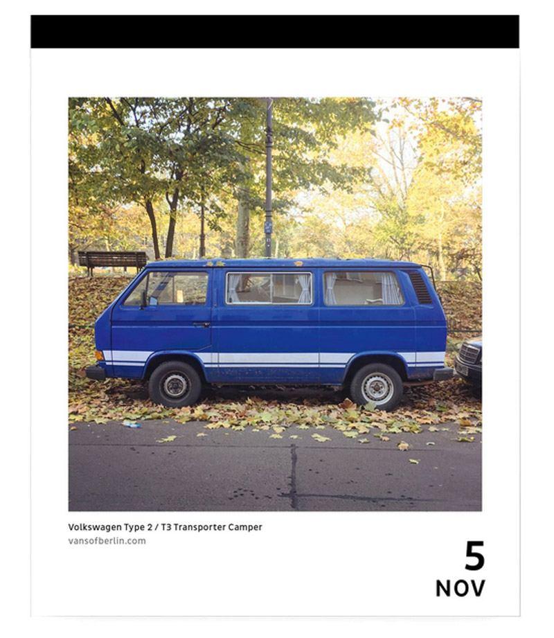 Urban Vans Calendar - A Van For Every Day