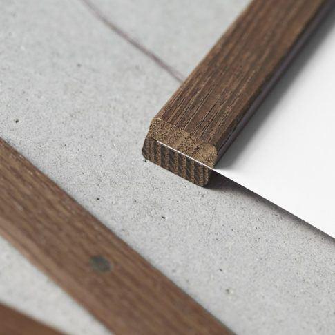 ChiCura Posterleiste Weiss 61cm