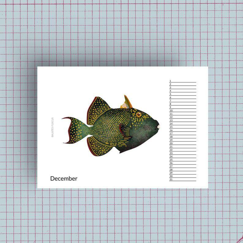 Geburtstagskalender Fische