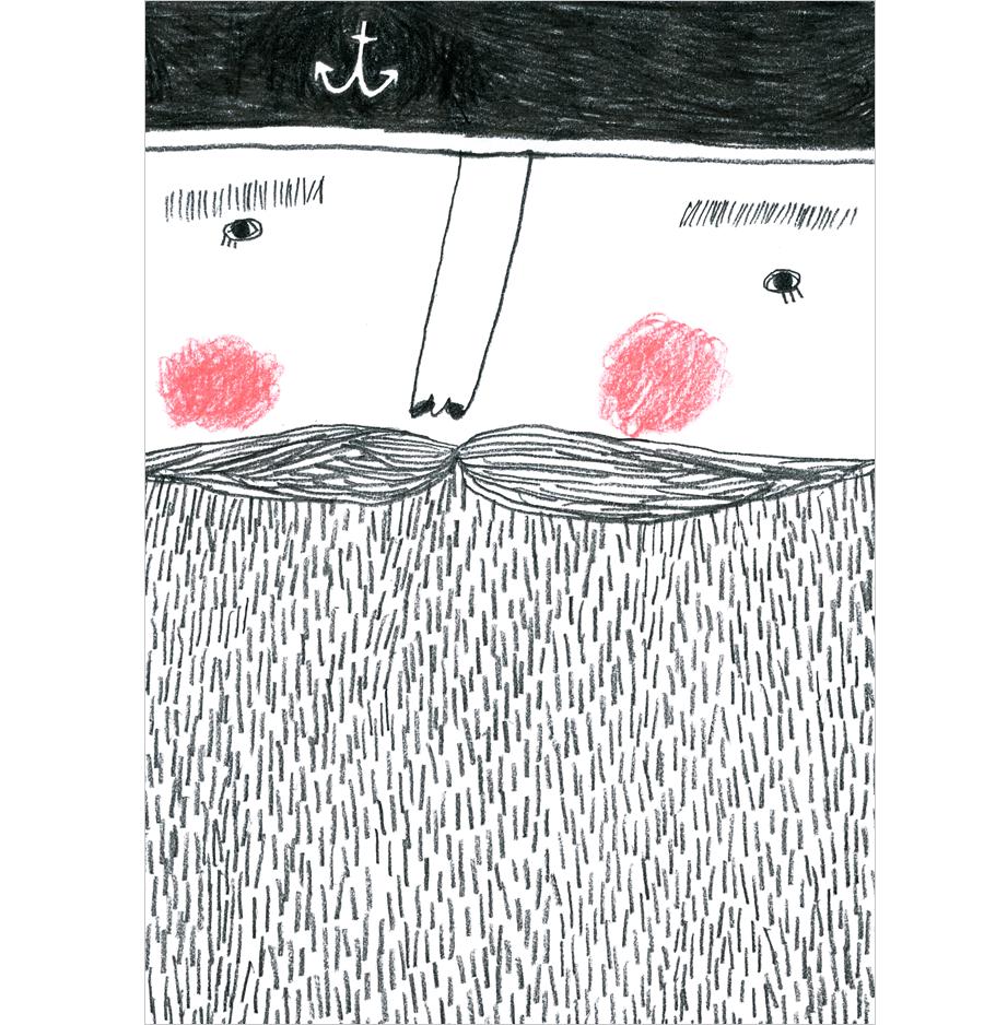 Sailor Postkarte