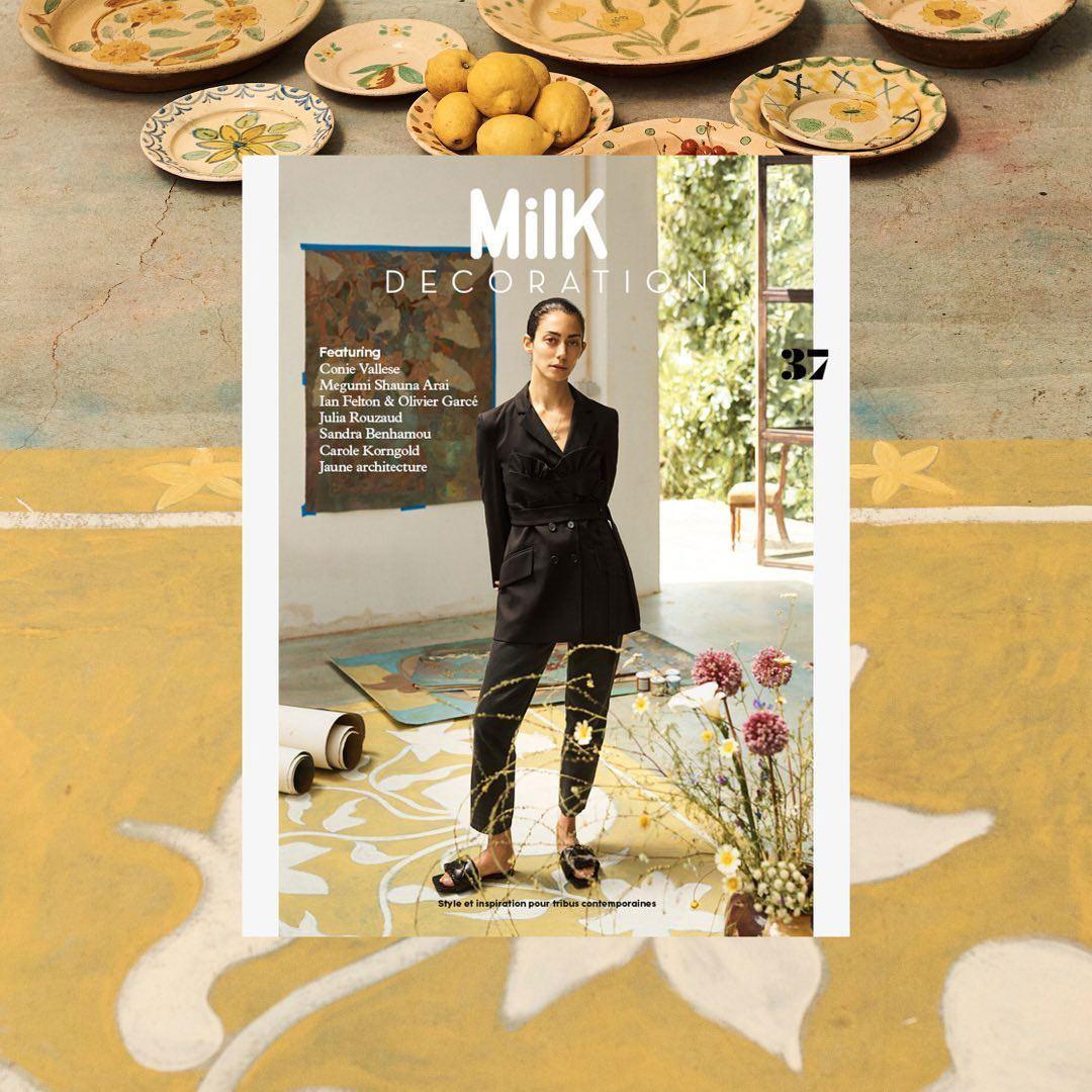 Milk Decoration No. 37