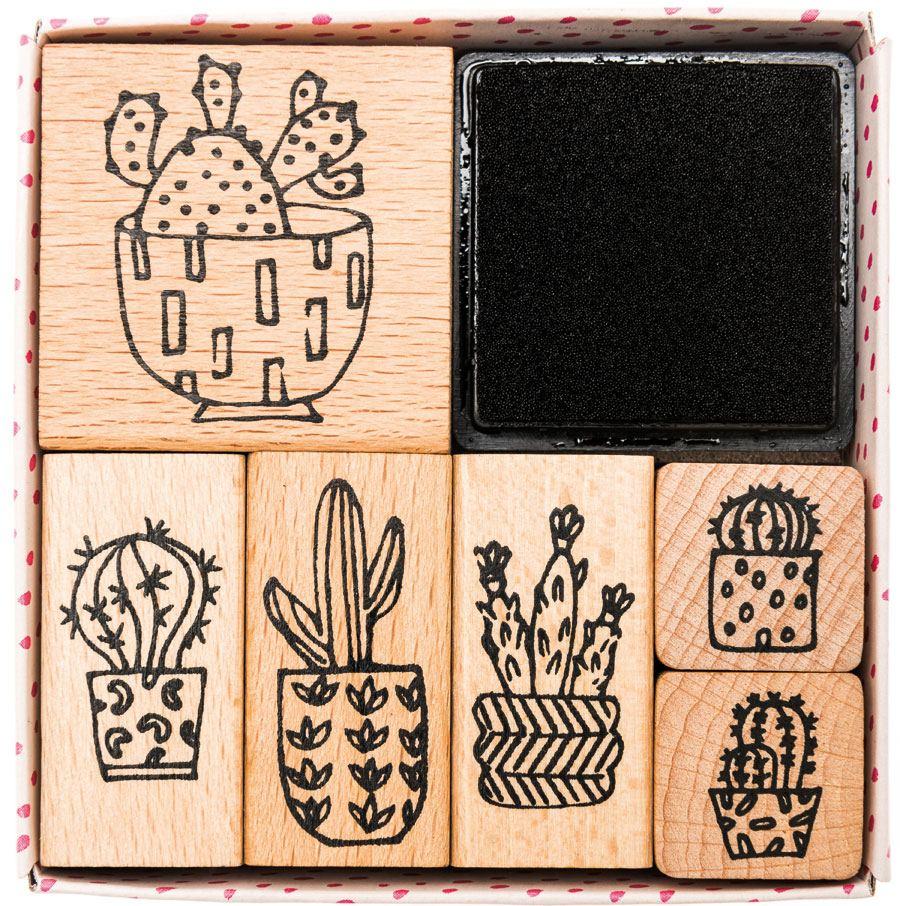 Stempelset Hygge Cactus