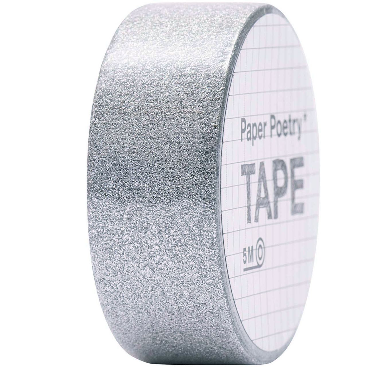 Tape Glitter Silber