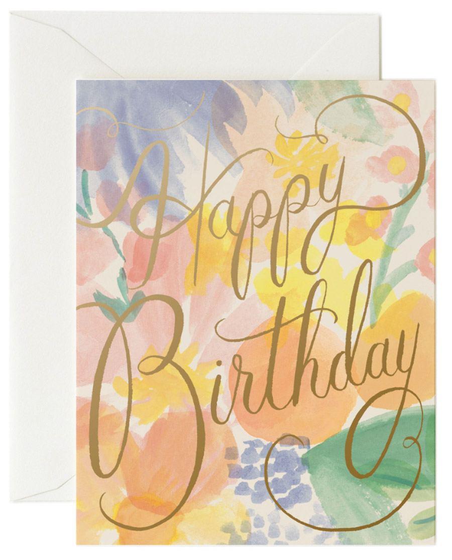 Gemma Birthday Klappkarte
