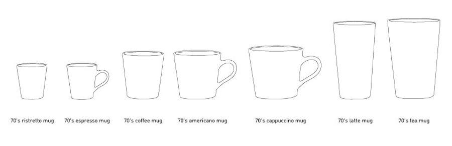 70's Ceramic Tea Mug #4